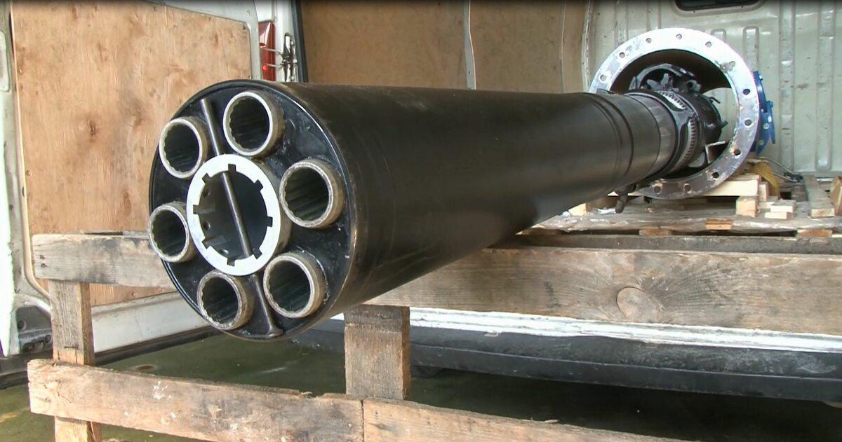 Funkcjonariusze ABW zabezpieczyli elementy działa systemu artyleryjskiego AK-630