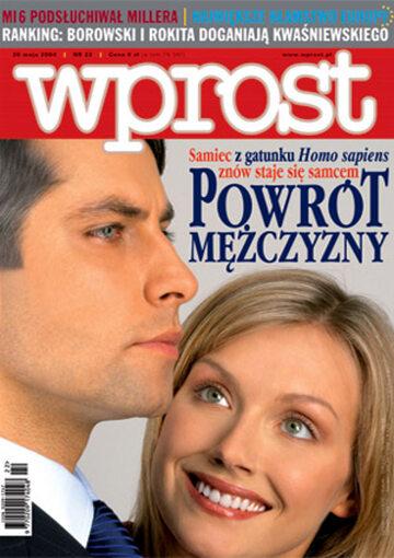 Okładka tygodnika Wprost nr 22/2004 (1122)