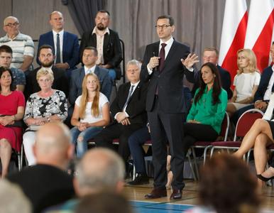 Awantura na spotkaniu z premierem Morawieckim. Interweniowała policja