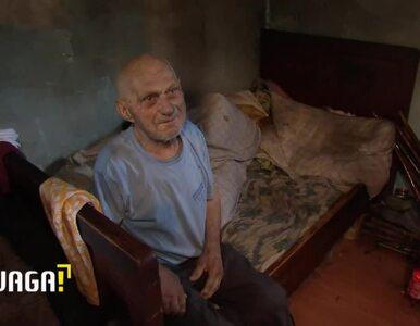 """Uwaga! TVN: """"Ja bym już chciał, żeby mnie pochowali"""". 90-latek po udarze..."""