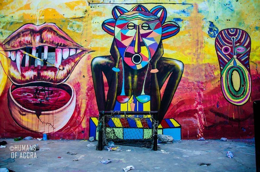 Accra, Ghana fot. boredpanda.com