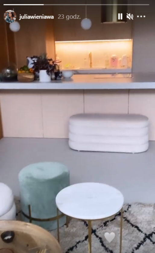 Nowe mieszkanie Julii Wieniawy