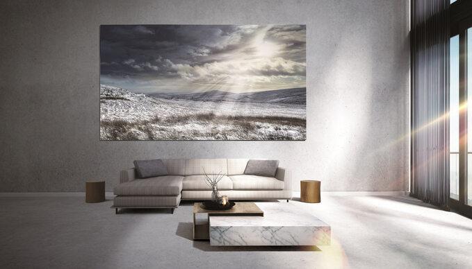 The Wall towyświetlacz najnowszej generacji zbudowany wtechnologii MicroLED, zapewniający rewolucyjne wrażenia wizualne