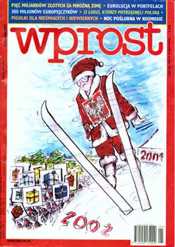 Okładka tygodnika Wprost nr 1/2002 (997)