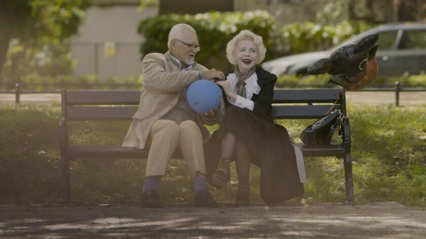 """Kadr z filmu dokumentalnego """"Lekcja miłości"""""""
