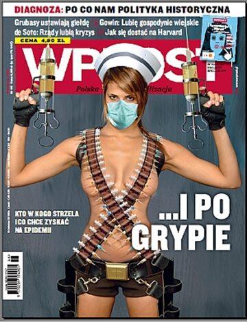 Okładka tygodnika Wprost nr 46/2009 (1399)