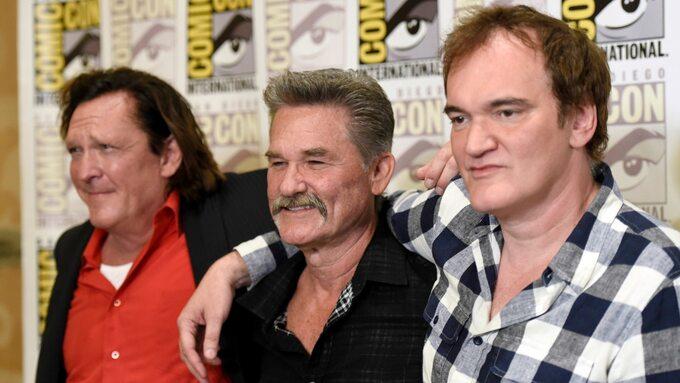 Comic-Con: Michael Madsen, Kurt Russell, Quentin Tarantino
