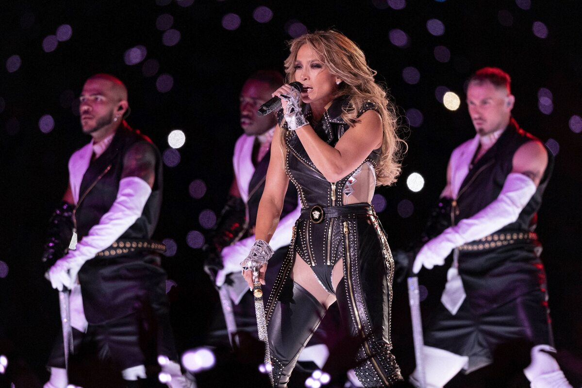 J. Lo w trakcie Super Bowl 2020