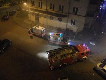 Pożar w Warszawskiej Prokuraturze Okręgowej