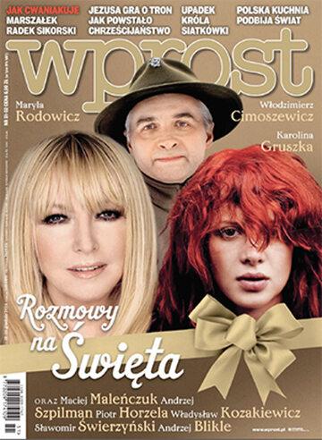 Okładka tygodnika Wprost nr 51/2014 (1659)
