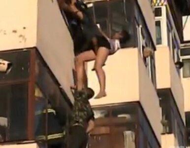 Ta para już się nie pokłóci. Przynajmniej nie na balkonie