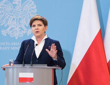 Wieczorem specjalne wystąpienie premier Beaty Szydło