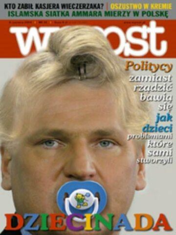 Okładka tygodnika Wprost nr 23/2004 (1123)