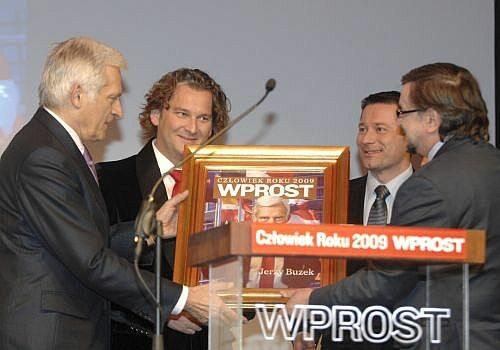 Człowiek Roku 2009 - Jerzy Buzek, Stanisław Janecki, Michał Lisiecki