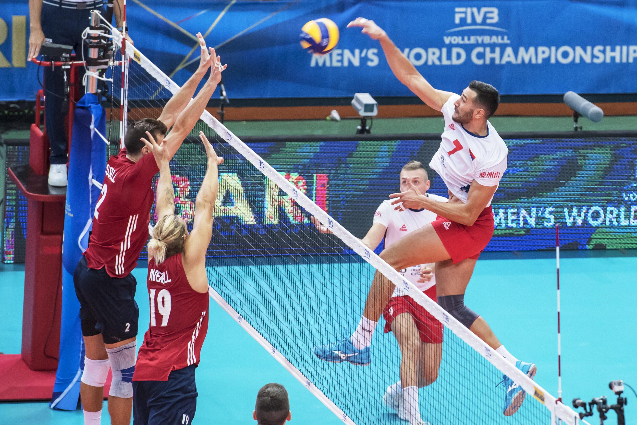 Mecz USA-Serbia