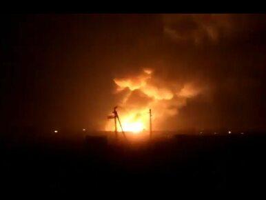 Pożar w jednym z największych składów amunicji na Ukrainie. Ewakuowano...