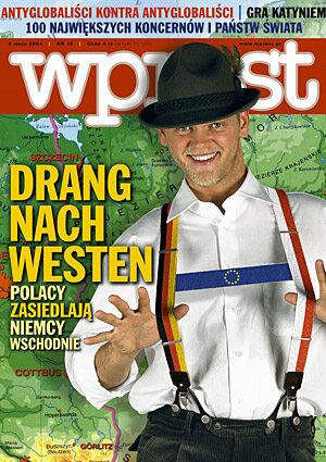 Okładka tygodnika Wprost nr 19/2004 (1119)