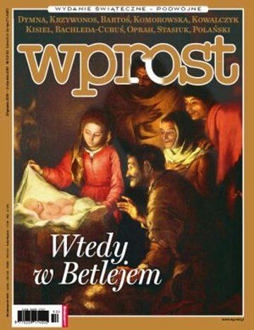 Okładka tygodnika Wprost nr 52-53/2010 (1455)