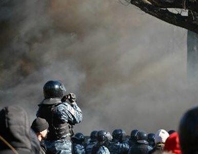 Kijów: Ponad 100 rannych po starciach z milicją
