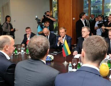 Tusk i premier Litwy: powstanie wspólny zespół do spraw edukacji