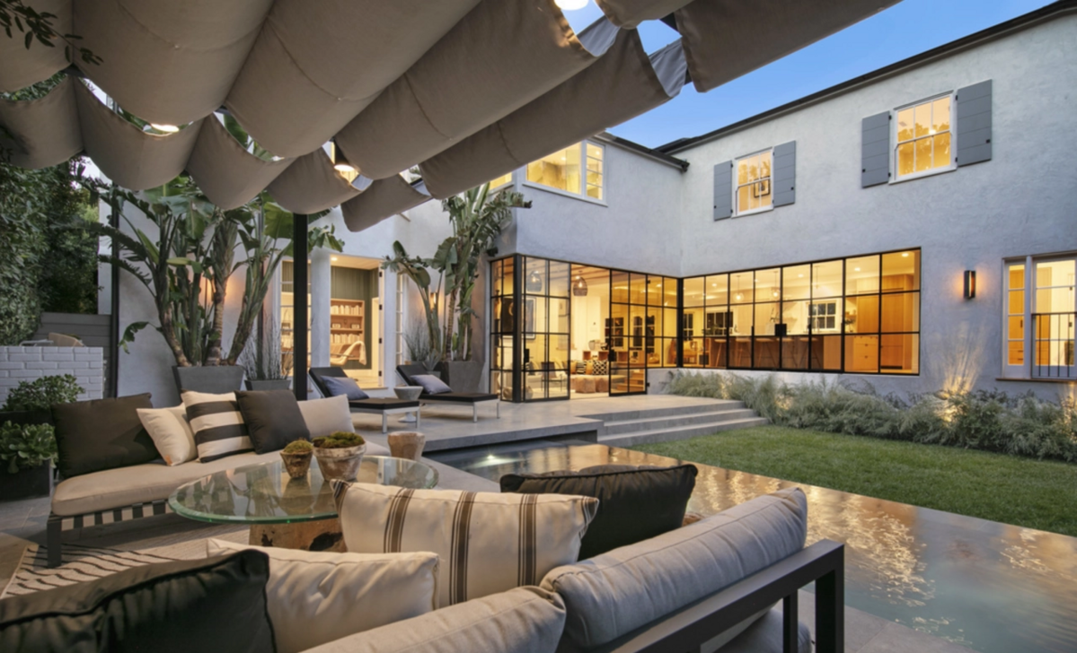 Dom w Beverly Hills, w którym mieszkał Justin Bieber