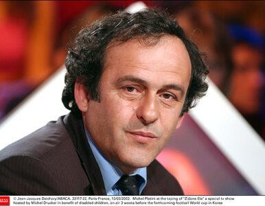 FIFA chce dożywotniej dyskwalifikacji Platiniego