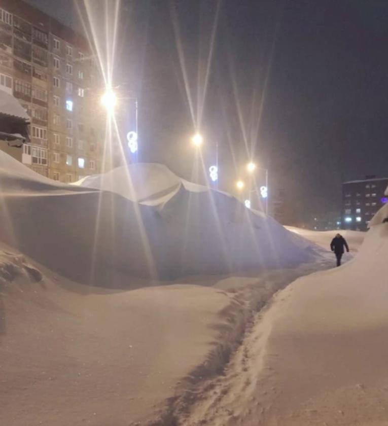 Zima w Norylsku