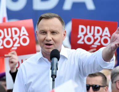 Andrzej Duda o PO-PSL: Byli gorszym wirusem niż koronawirus