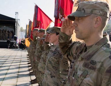 Zmiana warty w Żaganiu. Amerykańscy żołnierze wracają do domów