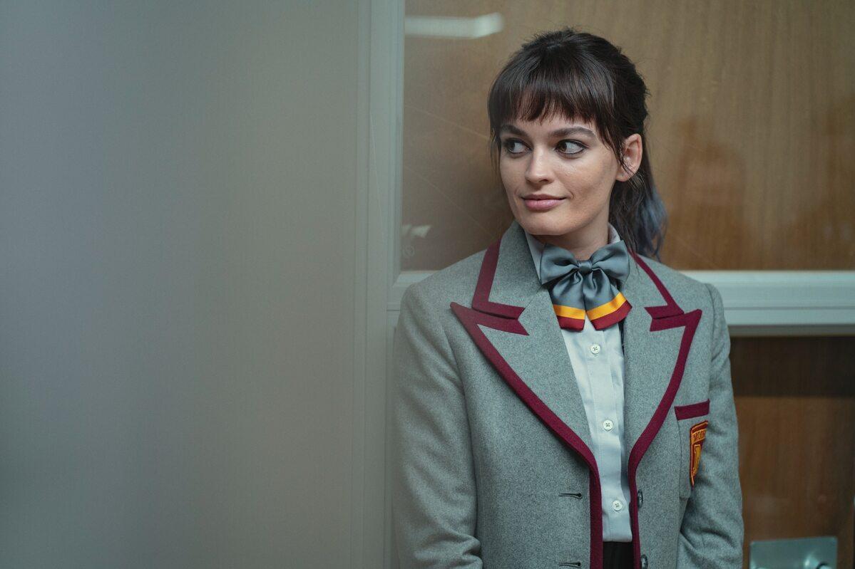 "Zdjęcie z planu 3. sezonu ""Sex Education"""