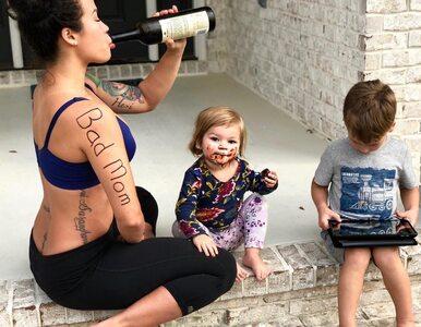 """Wyjaśnia, dlaczego jest dumna z bycia """"złą matką"""". Udostępniła niezwykłe..."""