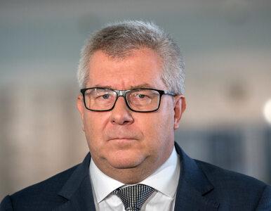 """Thun: Czarnecki słowem """"szmalcownik"""" zaśmiecił debatę publiczną. On je..."""