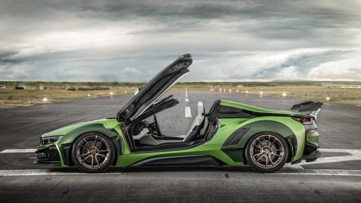 BMW i8 Army Edition