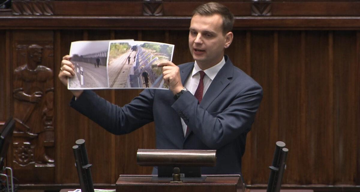 Jakub Kulesza pokazał zdjęcia z granicy węgiersko-serbskiej