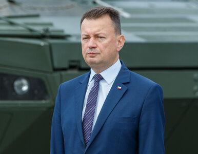 Mariusz Błaszczak zapowiedział budowę płotu na granicy z Białorusią