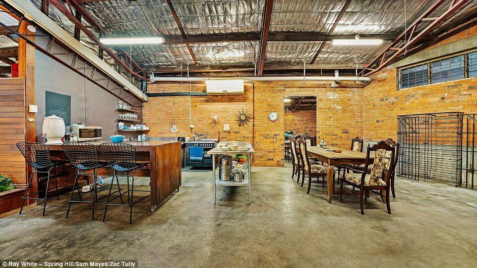 Dom-magazyn w Brisbane Dom-magazyn w Brisbane sprzedany za 1,23 mln dolarów