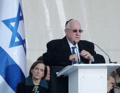 Prezydent Izraela jednak oskarżył Polskę o współudział w Holokauście?...