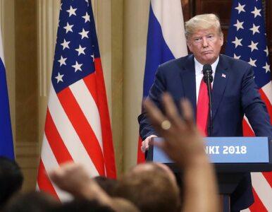 Słowa Trumpa w Helsinkach wywołały burzę. Teraz twierdzi, że......