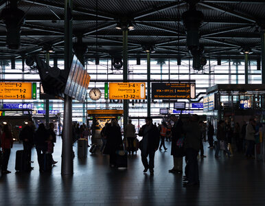 Policja na lotnisku Schiphol. Doszło do próby uprowadzenia samolotu?