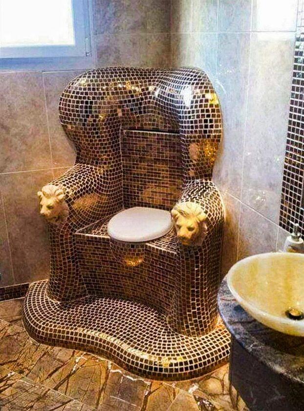 Prawdziwy tron!