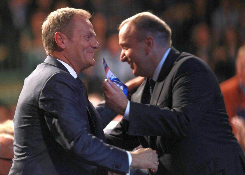 Donald Tusk i Grzegorz Schetyna, zdj. z 2011 roku