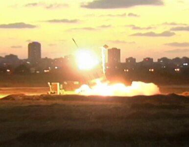 Żelazna Kopuła strąca rakiety Hamasu