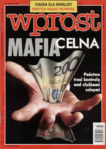 Okładka tygodnika Wprost nr 3/2001 (947)