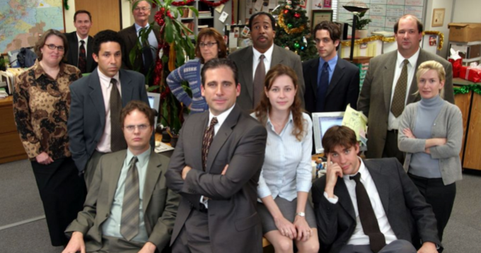 "Obsada serialu ""The Office"" (pol. ""Biuro"")"