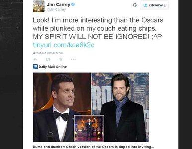 """Fałszywy Jim Carrey na """"czeskich Oscarach"""". Organizatorzy nie zauważyli..."""
