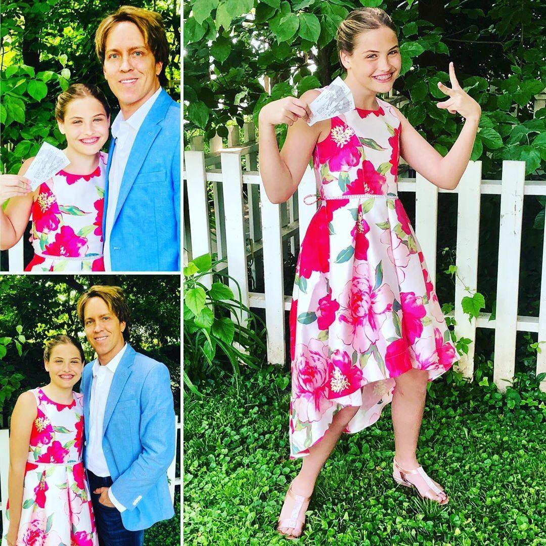 Dannielynn Birkhead i jej ojciec Larry Birkhead
