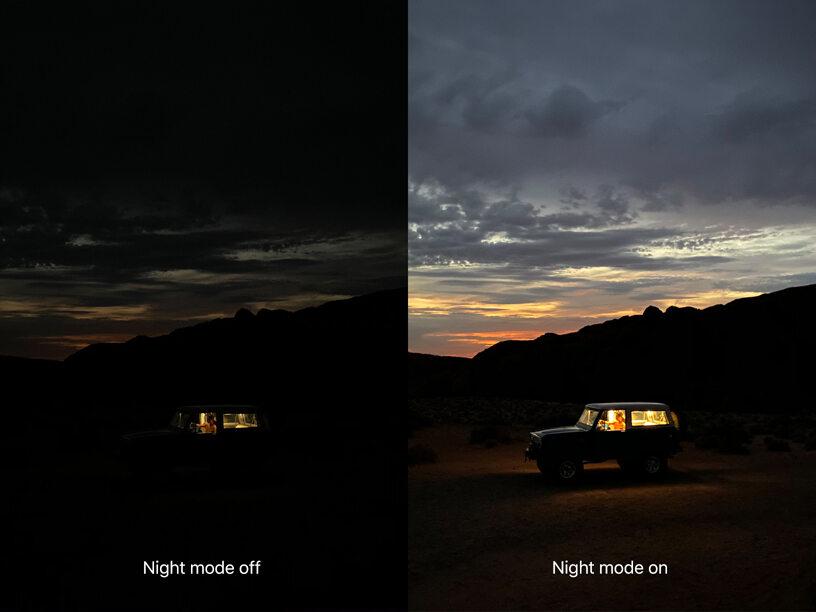 iPhone 11 chwali się nowym trybem nocnym