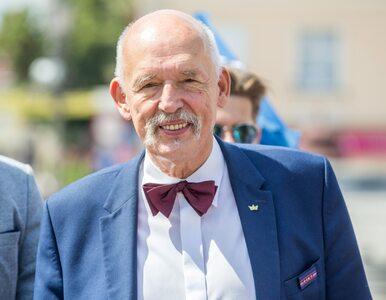 Cezary Pazura chwali Janusza Korwin-Mikkego. Polityk odpowiedział aktorowi