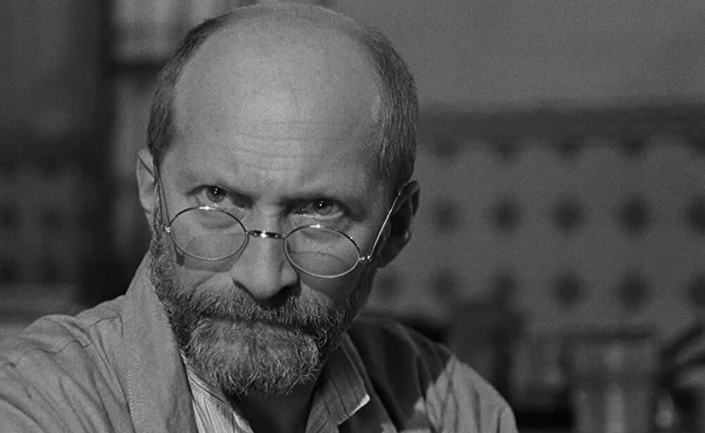 """Wojciech Pszoniak jako Janusz Korczak w filmie """"Korczak"""" (1990)"""