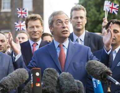"""Nieoczekiwana rezygnacja. """"Twarz Brexitu"""" ustępuje ze stanowiska"""